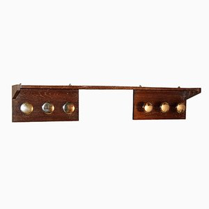 Vintage Modernist Art Deco Coat Rack