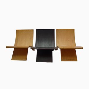 Laminex Chairs by Jens Nielsen for Westnofa, 1960s, Set of 3