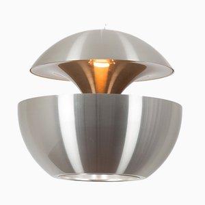 Silberfarbene Vintage Springfontein Lampe von Bertrand Balas für Raak