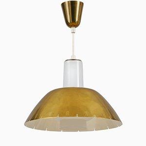 Lámpara colgante modelo K2-20 de latón de Paavo Tynell para Idman