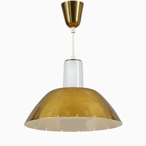 Model K2-20 Brass Pendant Ceiling Lamp by Paavo Tynell for Idman