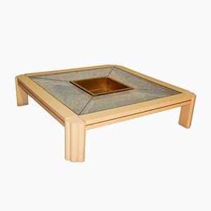Table Basse Vintage par Alain Delon pour Maison Jansen