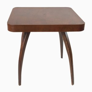 Czech H-259 Spider Walnut Coffee Table by Jindrich Halabala for UP Zavody, 1930s