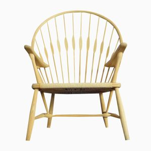 Danish Peacock Chair by Hans J. Wegner for PP Møbler, 1980s