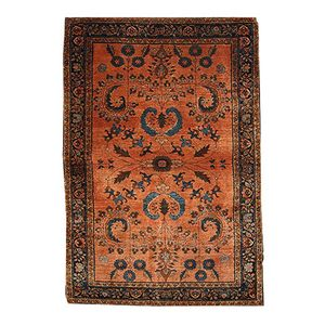 Antique Middle Eastern Handmade Rug, 1910s