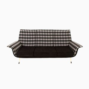 Mid-Century Italian Sofa with Pattern, 1960s