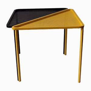 Tables par Mathieu Mategot, France, 1950s, Set de 2