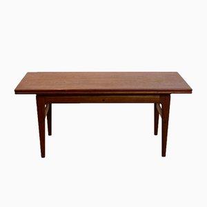 Table à Ciseaux à Rallonge en Palissandre par Kai Kristiansen pour Vildbjerg Møbelfabrik
