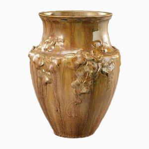 Jugendstil Vase von Ernest Carrière