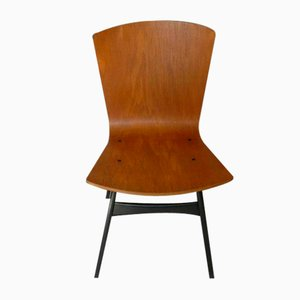 S667 Chair by Eddie Harlis for Thonet, 1959