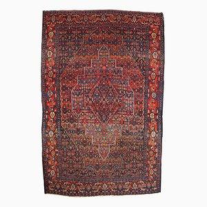 Alfombra de Oriente Medio antigua hecha a mano, década de 1900