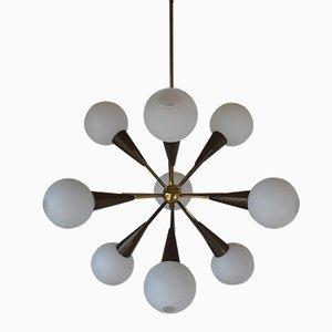 Sputnik Hängelampe von Stillovo, 1950er