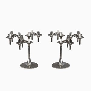 Orion Modular Candelabras from BMF, 1970s, Set of 2