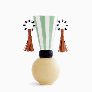 Masai Earrings Vase by Serena Confalonieri