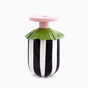 Maasai Collar Vase by Serena Confalonieri