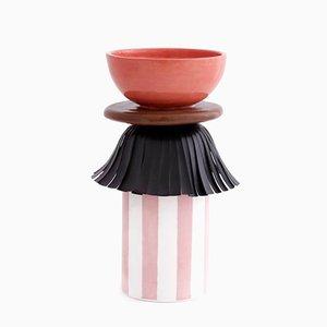 Maasai Skirt Vase von Serena Confalonieri