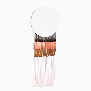 Specchio Maasai rotondo di Serena Confalonieri
