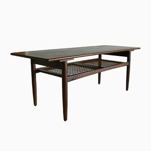 Vintage Danish Coffee Table in Teak