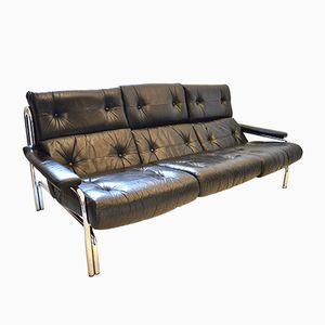 Mid-Century Modern Alpha 3-Sitzer Sofa von Tim Bates für Sieff, 1970er