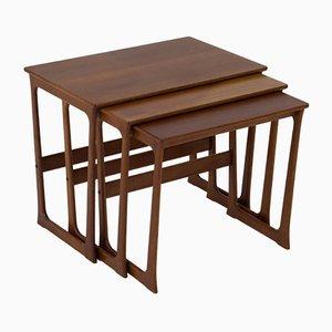 Tavolini a incastro Mid-Century moderni di Johannes Andersen, Danimarca, anni '60