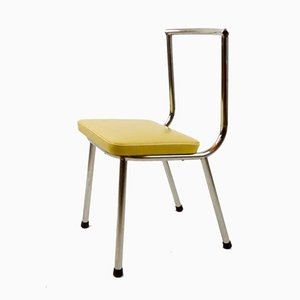 Niedriger Vintage Stuhl, 1950er