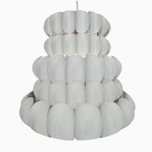 Metall Deckenlampe von Hans Agne Jakobsson, 1960er