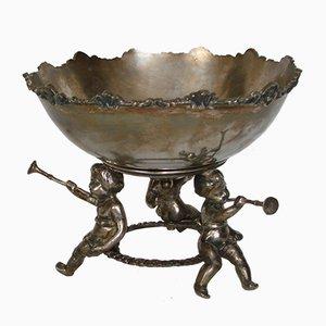 Scodella placcata in argento, anni '20