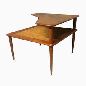 Tavolino Minerva da caffè Mid-Century in teak di Peter Hvidt & Orla Mølgaard-Nielsen per France & Søn, Danimarca, anni '60