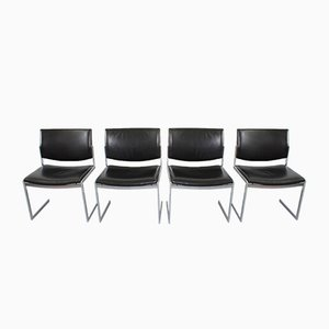Model JK 770 Chairs by Jörgen Kastholm for Kill International, 1970s, Set of 4