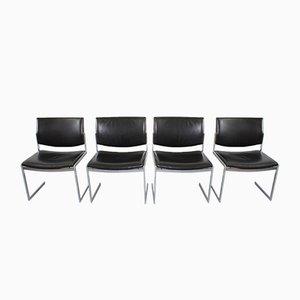 Model JK 770 Chairs by Jörgen Kastholm for Kill International, Set of 4