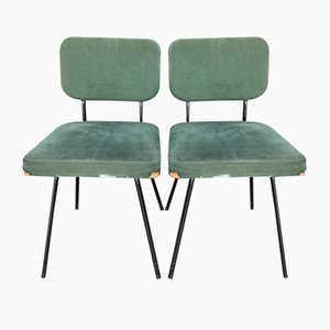 Mid-Century Side Chairs by André Simard for Airborne, Set of 2