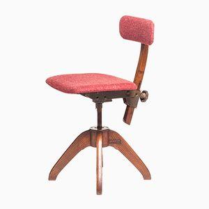 Vintage Swedish Desk Chair from Åtvidabergs