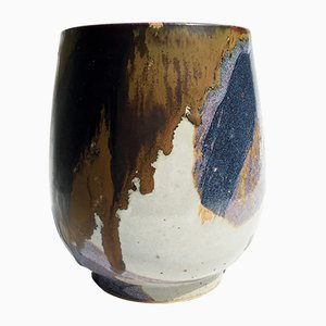 Vintage Cup-Shaped Vase by Renate & Hans Heckmann