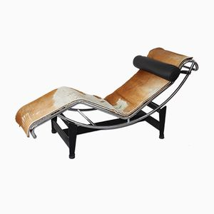 LC 4 Chaise Lounge by Le Corbusier, Jeanneret, and Perriand for Cassina, 1960s
