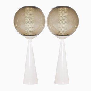 Lampes de Bureau en Céramique par Hans-Agne Jakobsson, 1960s, Set de 2