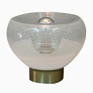 Lampe de Bureau au Motif Circulaire, Italie,1970s