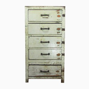 Vintage French Dresser with Five Drawers