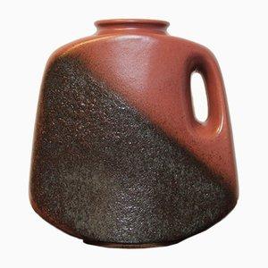 Gesprenkelte Fat Lava Vase, 1960er