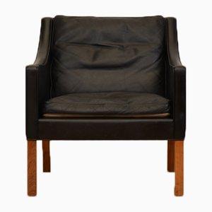 Mid-Century Modell 2207 Sessel von Børge Mogensen für Fredericia