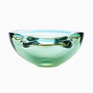 Cuenco Sommerso vintage de cristal de Murano