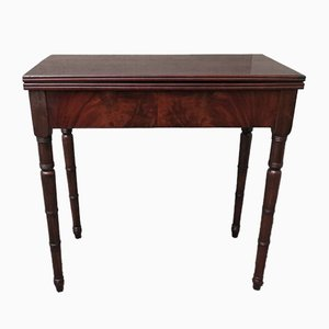 Antique Italian Card Playing Table, 1850s
