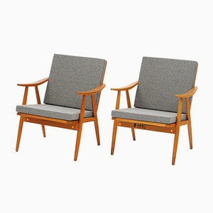 Vintage Easy Chairs from TON, Set of 2