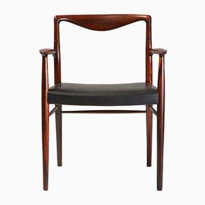 Palisander Armlehnstuhl von Kai Lyngfeldt-Larsen für Søren Wiladsen, 1960er