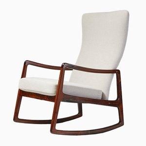 Rocking Chair FD-160 en Palissandre par Ole Wanscher pour France & Søn, 1950s