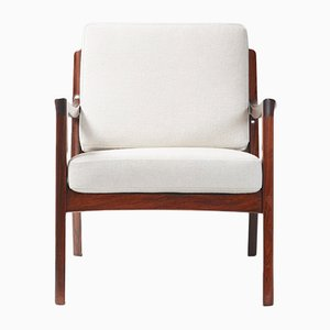 Rosewood Senator Chair by Ole Wanscher for France & Søn, 1960s
