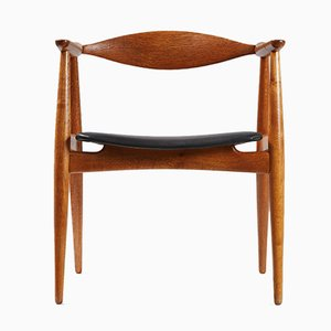 CH-35 Oak Armchair by Hans Wegner for Carl Hansen & Søn, 1950s