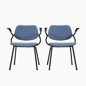 Mid-Century Dutch Chairs from Marko Holland, 1960s, Set of 2