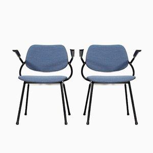 Niederländische Mid-Century Stühle von Marko Holland, 1960er, 2er Set