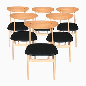 Vintage Model 210 Chairs from Farstrup Møbler, Set of 6