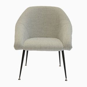 Mid-Century Polish Shell Armchair